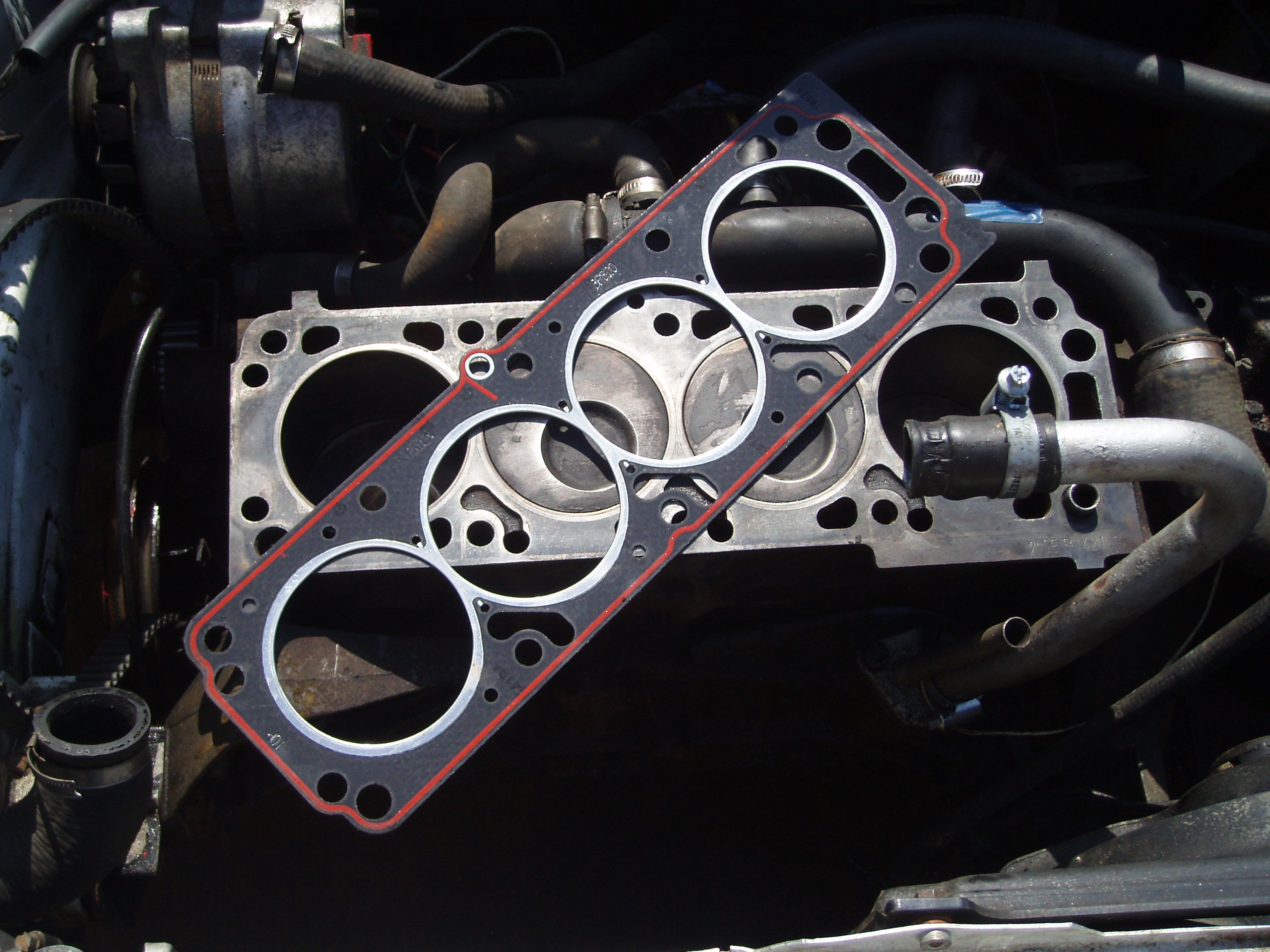Head Gasket Leaks How To Repair A Blown Kseal. Head Gasket. KIA. 2005 KIA Rio Engine Diagram Of A Head Gasket At Scoala.co