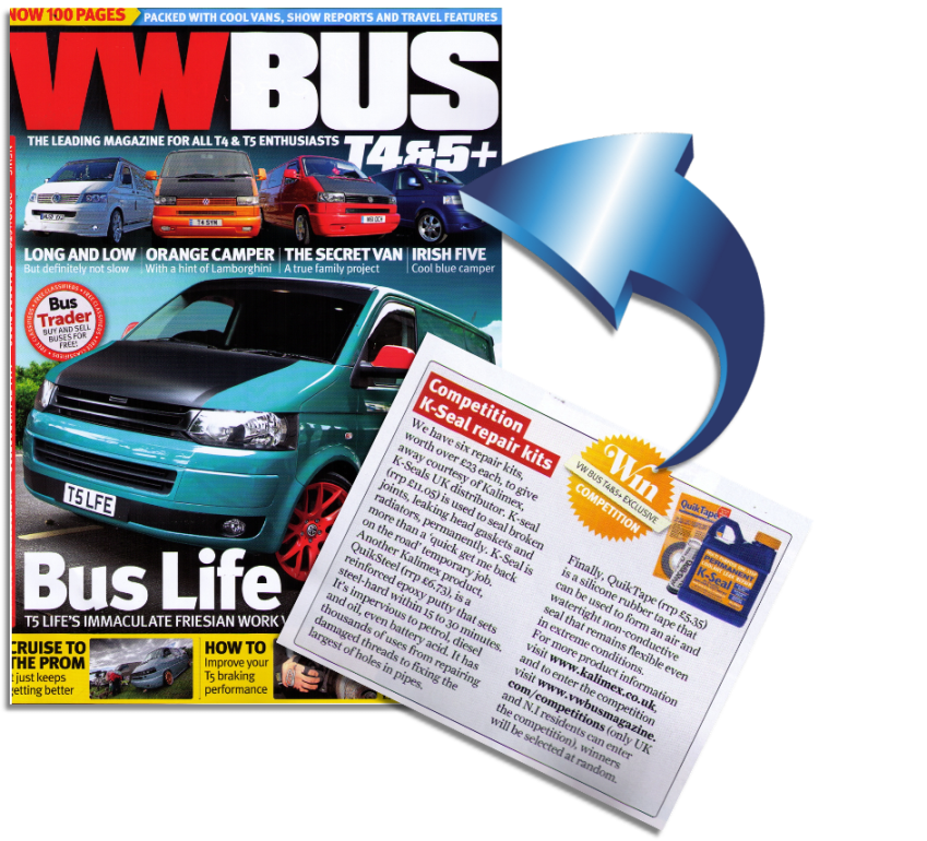 K-Seal VW Bus Magazine